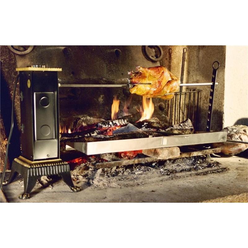 Grand tournebroche lectrique double haut de gamme - Barbecue electrique haut de gamme ...