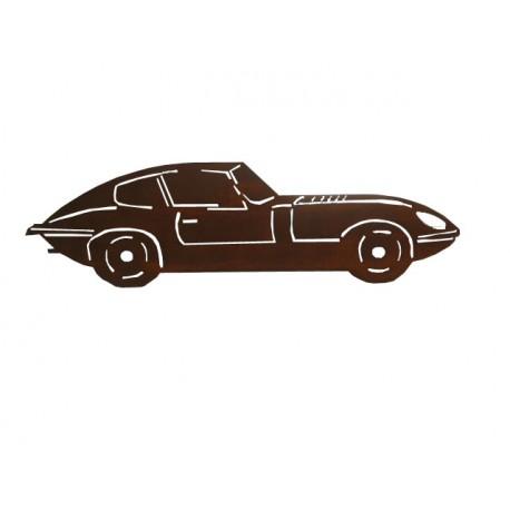 Silhouette Forme métal Jaguar