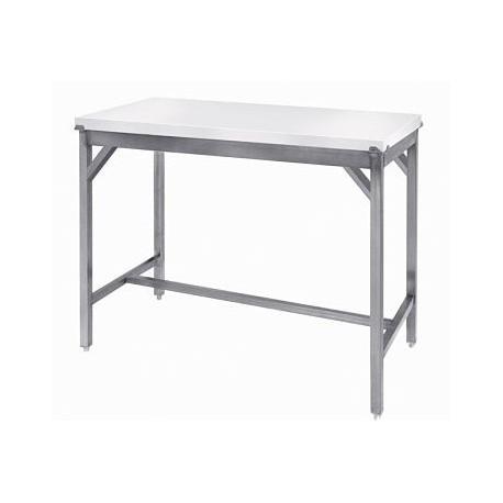 Table de découpe renforcée polyéthylène profondeur 700 ou 1000