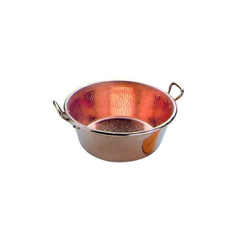 bassine confiture lourde cuivre martele. Black Bedroom Furniture Sets. Home Design Ideas