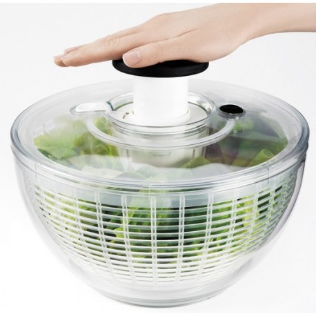 essoreuse salade oxo bouton poussoir la cabane du chasseur. Black Bedroom Furniture Sets. Home Design Ideas