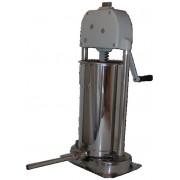 Poussoir inox vertical 12 litres, 2 vitesses